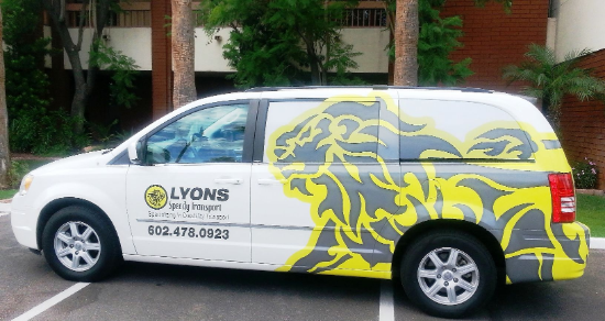 Lysons Speedy Transport Van